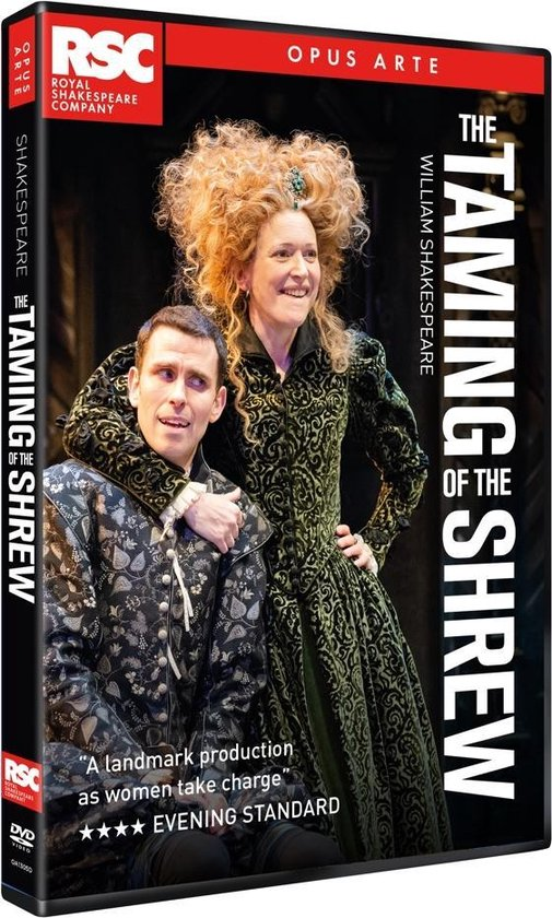 CD cover van The Taming Of The Shrew van Royal Shakespeare Company