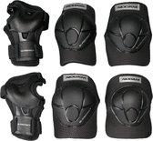 Nijdam N-Protect - Junior Beschermset – Zwart – Maat M