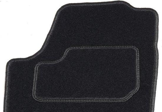 Automatten op maat - zwart stof - geschikt voor Opel Corsa C 2000-2006