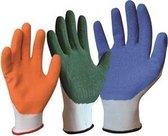 Handschoenen anti slipt Slide Solution Gloves - groen - maat M
