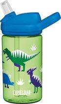 CamelBak Eddy+ Kids - Drinkfles - 400 ml - Groen (Hip Dinos)