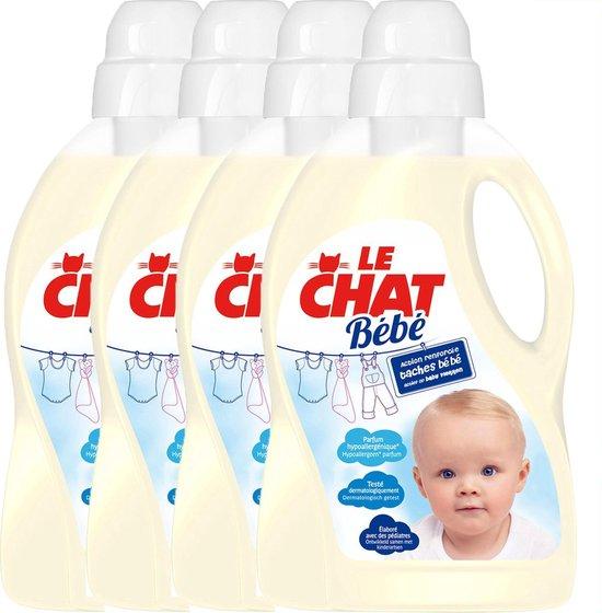 Le Chat Baby Wasmiddel - Voorraadbox - 4 x 30 wasbeurten (120)