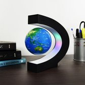 MikaMax Zwevende Wereldbol LED verlichting 360 graden