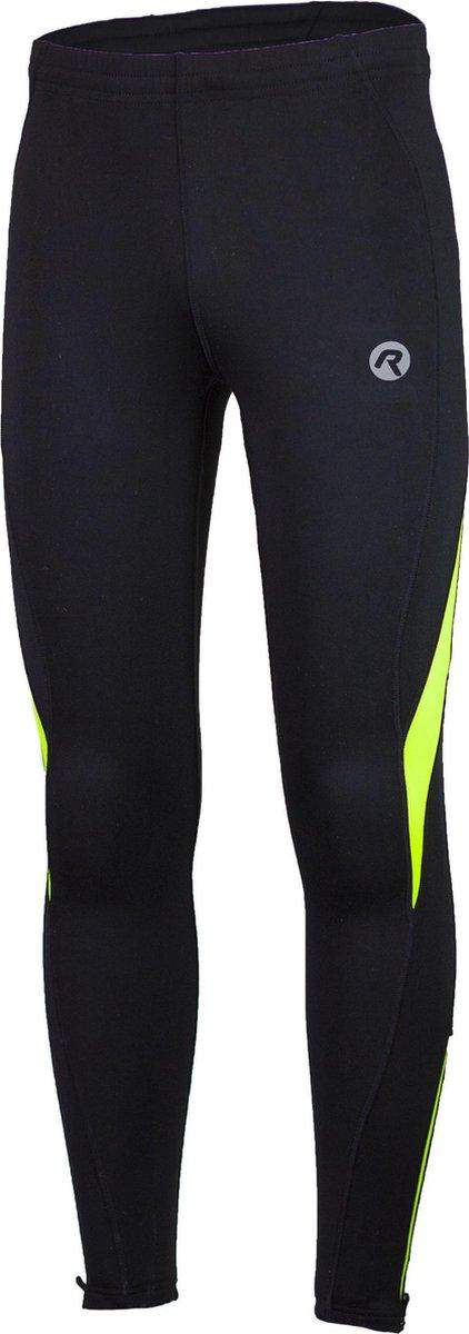 Rogelli Dunbar Running Wintertight  Sportlegging - Maat XL  - Mannen - zwart/geel - Rogelli