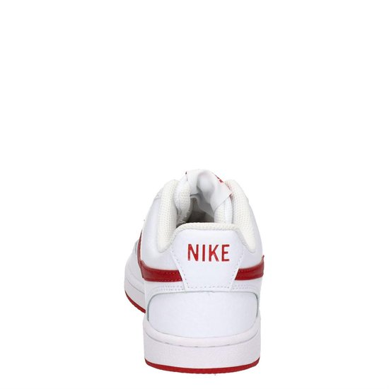 bol.com | Nike Court vision low dames sneaker - Wit rood ...