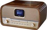 Soundmaster DAB970BRGOLD  Stereo DAB+ radio, CD speler, bluetooth, en USB