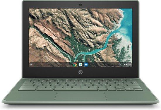 HP Chromebook 11 G8 EE Celeron N4020 32GB Groen