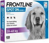 Frontline Hond Spot-On Large - 4 Pipetten