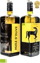 Biologische Olijfolie fles Extra Vierge / Vergine 2xLiter fles AWARD WINNER  koudgeperst Premium Kwaliteit