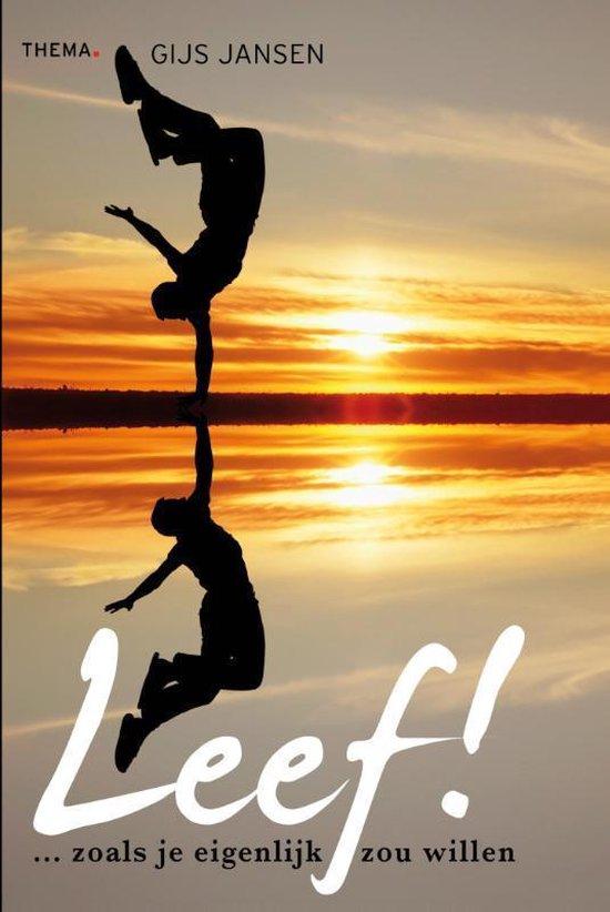 Boek cover Leef! van Gijs Jansen (Paperback)