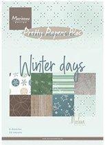 Marianne Design • Bloc winter days by Marleen