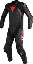 Dainese Avro D2 Black Black Red-Fluo 2PCS Suit 54