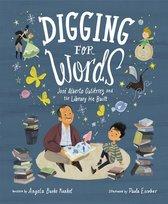 Boek cover Digging for Words van Angela Burke Kunkel