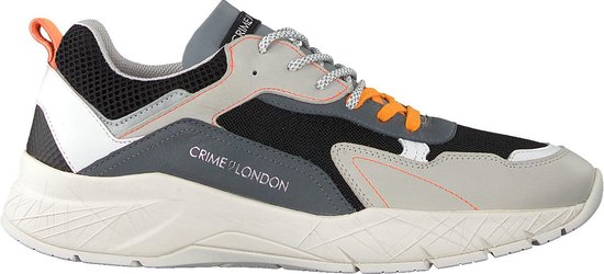Crime London Heren Lage sneakers Komrad 2.0 - Multi - Maat 43