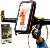 Waterdichte Smartphonehouders - Zwart - Stuurtas Fiets - Telefoonhouder - Touchscreen - Fietshouder - Veilige Fietsrit - Stofvrije hoes - Schokabsorberend - Voor alle weer omstandigheden - Samsung Galaxy/iPhone 11/iPhone 11 PRO MAX - Grotere Telefoon
