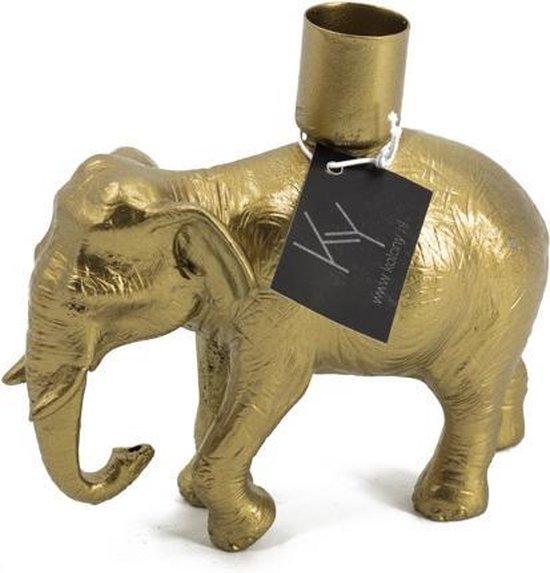Kaarsenstandaard olifant