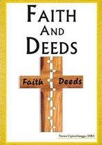 Boek cover Faith and Deeds van Dr. Yunus Ciptawilangga