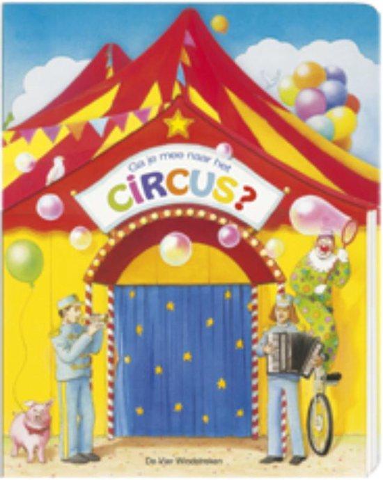 Ga je mee? kartonboek met flapjes - Ga je mee naar het circus? - M. Moschner |