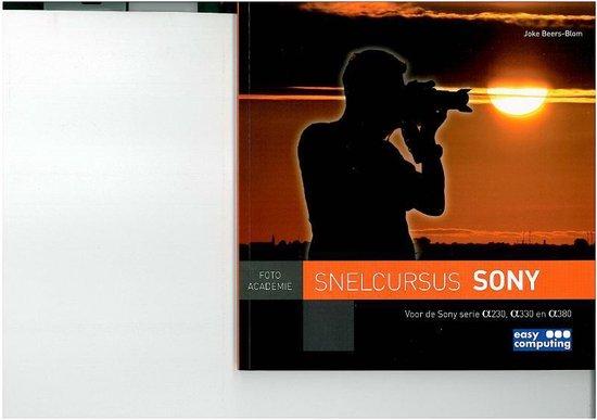Snelcursus SONY - Joke Beers-Blom | Fthsonline.com