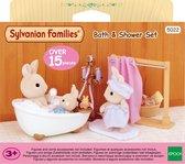 Sylvanian Families 5022 Bad&Doucheset - Speelfigurenset