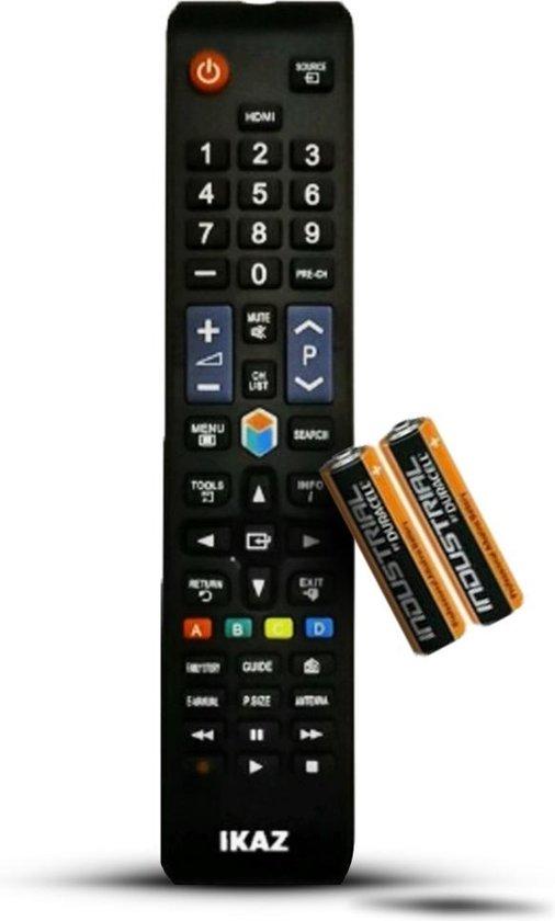 IKAZ Universele afstandsbediening Samsung TV|Inclusief Batterijen|Smart TV|Remote control