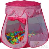 Kindertent - Incl. 100 ballen - Roze