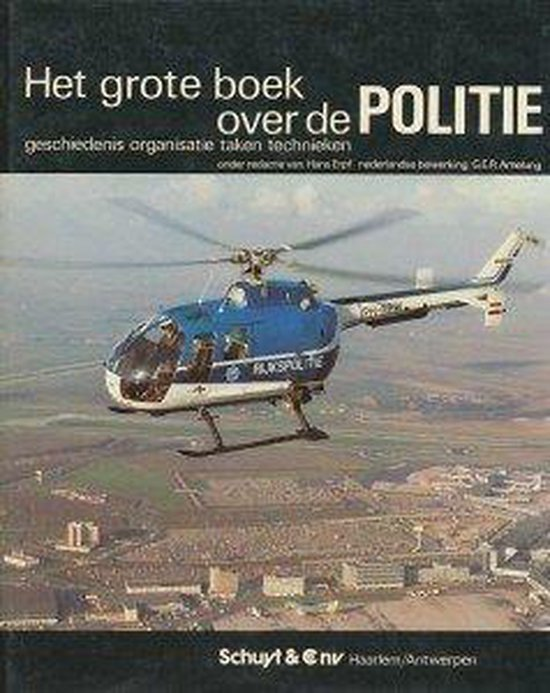 Grote boek over de politie - Erpf/Amelung  
