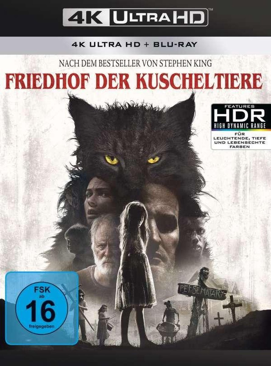 Pet Sematary (2019) (Ultra HD Blu-ray & Blu-ray)-