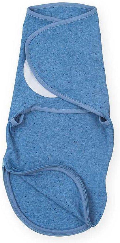 Slaapzak wrapper 0-3 maanden Speckled blue