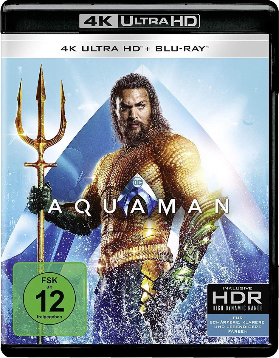 Aquaman (Ultra HD Blu-ray & Blu-ray)-