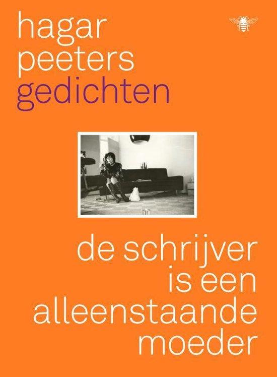 Boek cover De schrijver is een alleenstaande moeder van Hagar Peeters (Paperback)