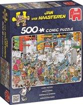 Jan van Haasteren Snoepfabriek puzzel - 500 stukjes