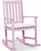 Lanterfant® Schommelstoel Noor – Met zitkussen - Voor binnen en buiten - Powder Pink