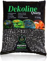 Aquatic Nature  kwartsgrind London 5 kilo - Zwart - 5kg