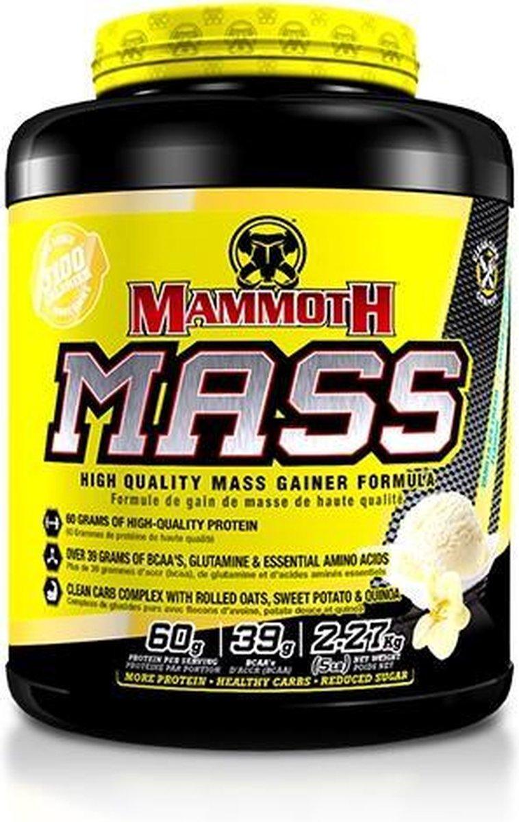 Interactive Nutrition Mammoth 2500 - Weight Gainer / Mass Gainer - Vanille - 2270 gram