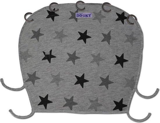 Dooky Universal Cover Zonnescherm Kinderwagen - Grey Stars