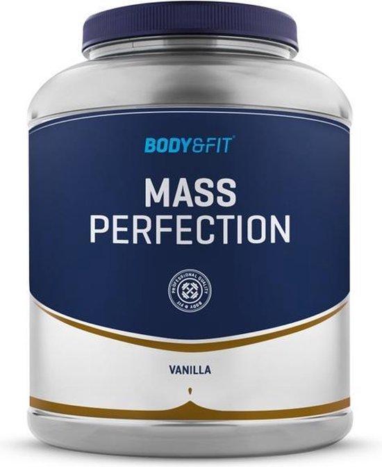 Body & Fit Mass Perfection - Weight gainer - 2200 gram - Vanille milkshake