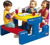 Buitenspeelgoed | Picknicktafels - Lt Picknicktafel Primary - Blauw