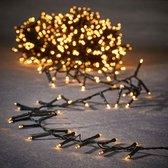 Luca Lighting kerstverlichting lichtsnoer - buiten - 2000 lampjes warm wit - flashfunctie - 4000 cm