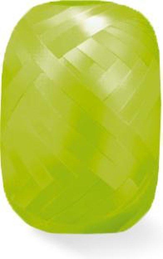 Lime Groen Lint 20 meter x 5mm