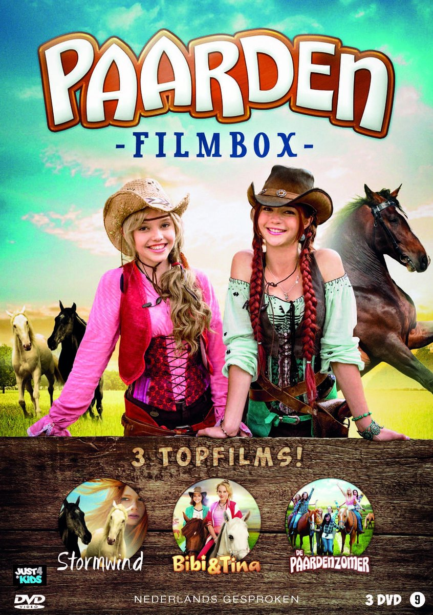 Paarden Filmbox (Bibi & Tina – Stormwind 2 – De Paardenzomer) - Movie