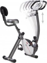 Toorx Fitness BRX-COMPACT MULTIFIT Inklapbare hometrainer met verstelbaar stuur - Grijs