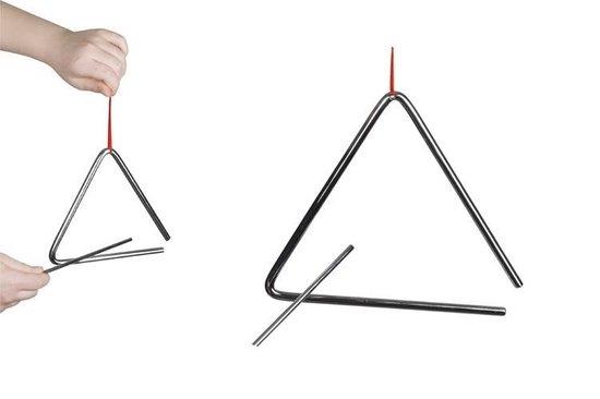 Goki Metalen triangel 16 cm