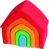 Grimms House color  houten speelgoed