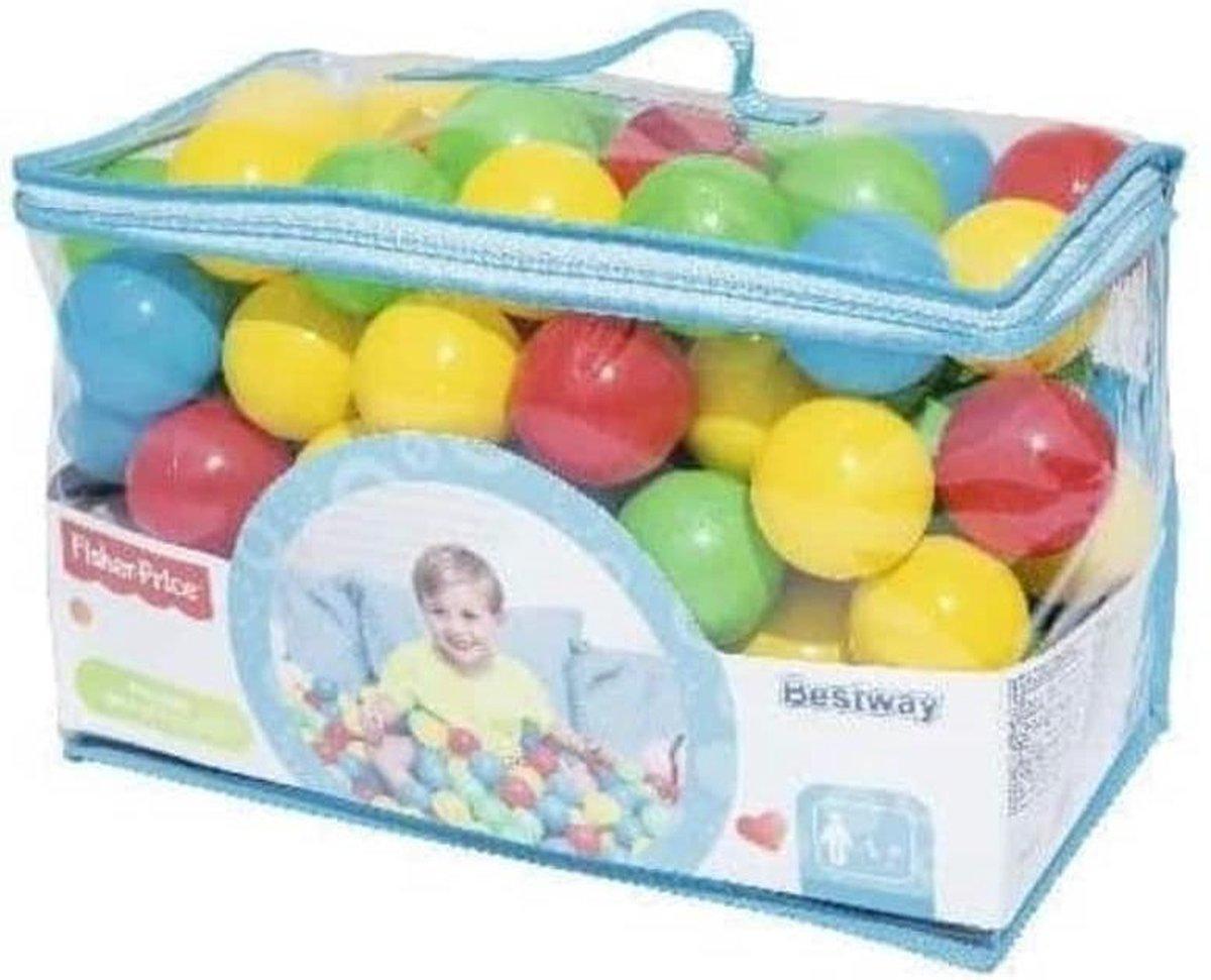 Fisher-price Ballenbak Speelballen 6,5 Cm 100-delig