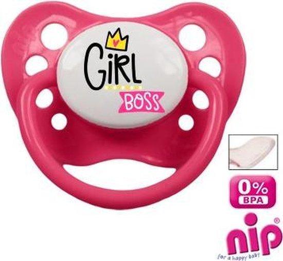 Babygoodies Fopspeen 'Girl Boss'
