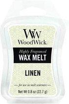Woodwick Linen Mini Wax Melt 3 stuks