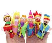Breng Sprookjes Tot Leven   Prinsen en Princessen Verhalen   6 Poppenkast Vingerfiguurtjes