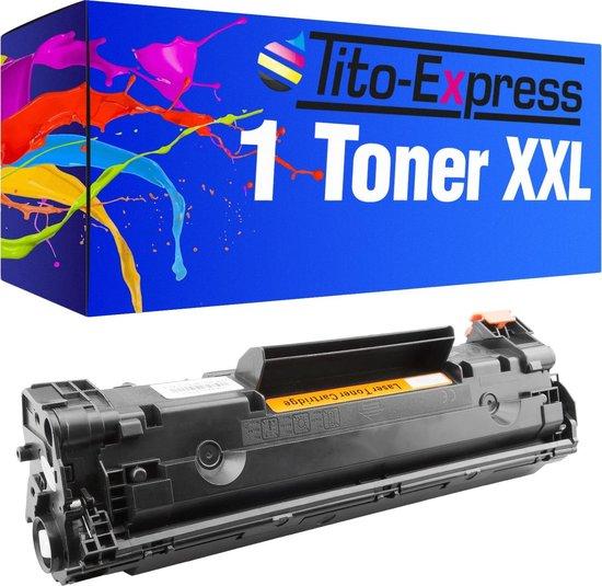 PlatinumSerie® Toner XL Zwart  voor  HP CE285A 85A Laserjet M1130 MFP M1132 MFP M1136 MFP M1210 MFP M1212 NF P1002 P1002 W P1002 WL P1100 P1101 P1102 P1102 W P1103 P1104 P1104 W P1106 P1106 W P1108.  Laserjet Pro M1132 M1136 M1212 P1100 P1101 P1102