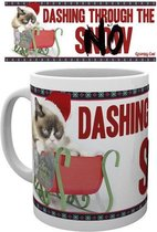 Grumpy Cat Rushing Christmas - Kerst Mok